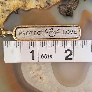 thirty-one Jewelry - JK Thirty-one protect & love necklace NWT